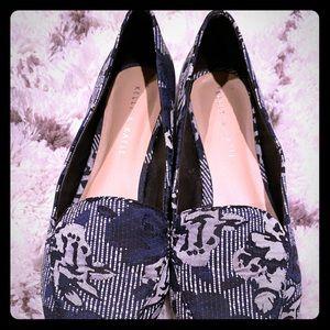 Kellie & Katie brocade shoes